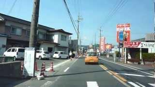 菅峠から峰山市街地へ(京丹後市峰山の表玄関道)