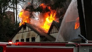 Former Port of Olympia Commissioners house burns down