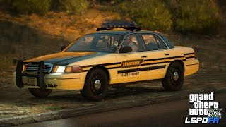 GTAV-LSPDFR Day-333,  Tennessee Highway Patrol, One long chase, Road to 10K!