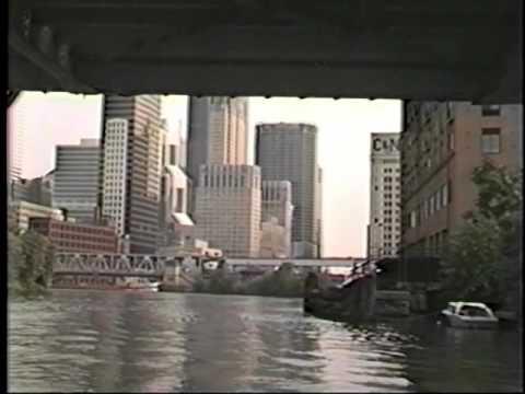1983 Chicago River Boat Ride