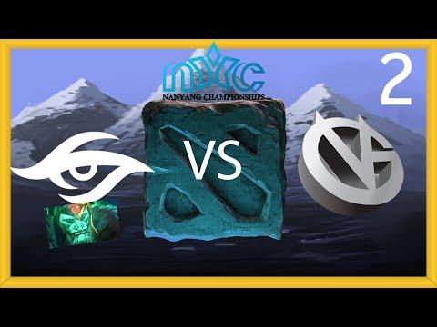 Secret vs VG - Nanyang LAN Playoff - FINAL - G2