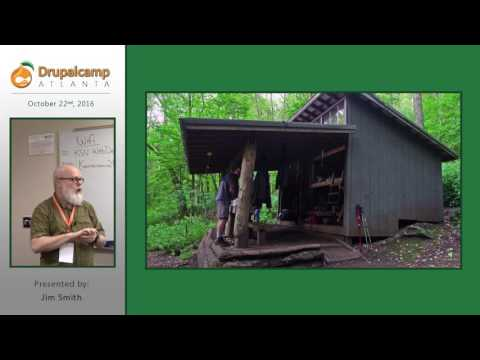 DrupalCamp Atlanta 2016: Lessons Learned from the Appalachian Trail (Jim Smith) on YouTube
