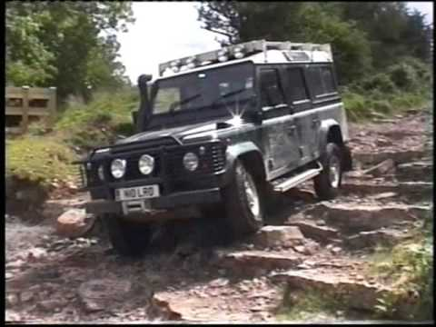 4x4 off road, Land Rover Defender, Wales 06, - YouTube