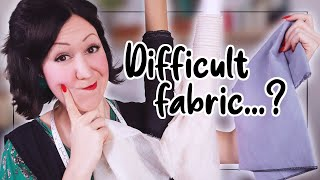 HOW TO TELL IF A FABRIC IS GOING TO BE HARD TO SEW WITH? What you wish someone told you starting!