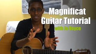 CJM MUSIC // Magnificat guitar tutorial with Jo Boyce