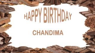 Chandima   Birthday Postcards & Postales