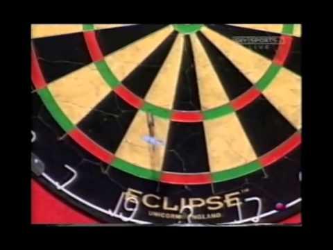Phil Taylor vs. Chris Mason - 2002 PDC World Matchplay (Part 1 of 2)