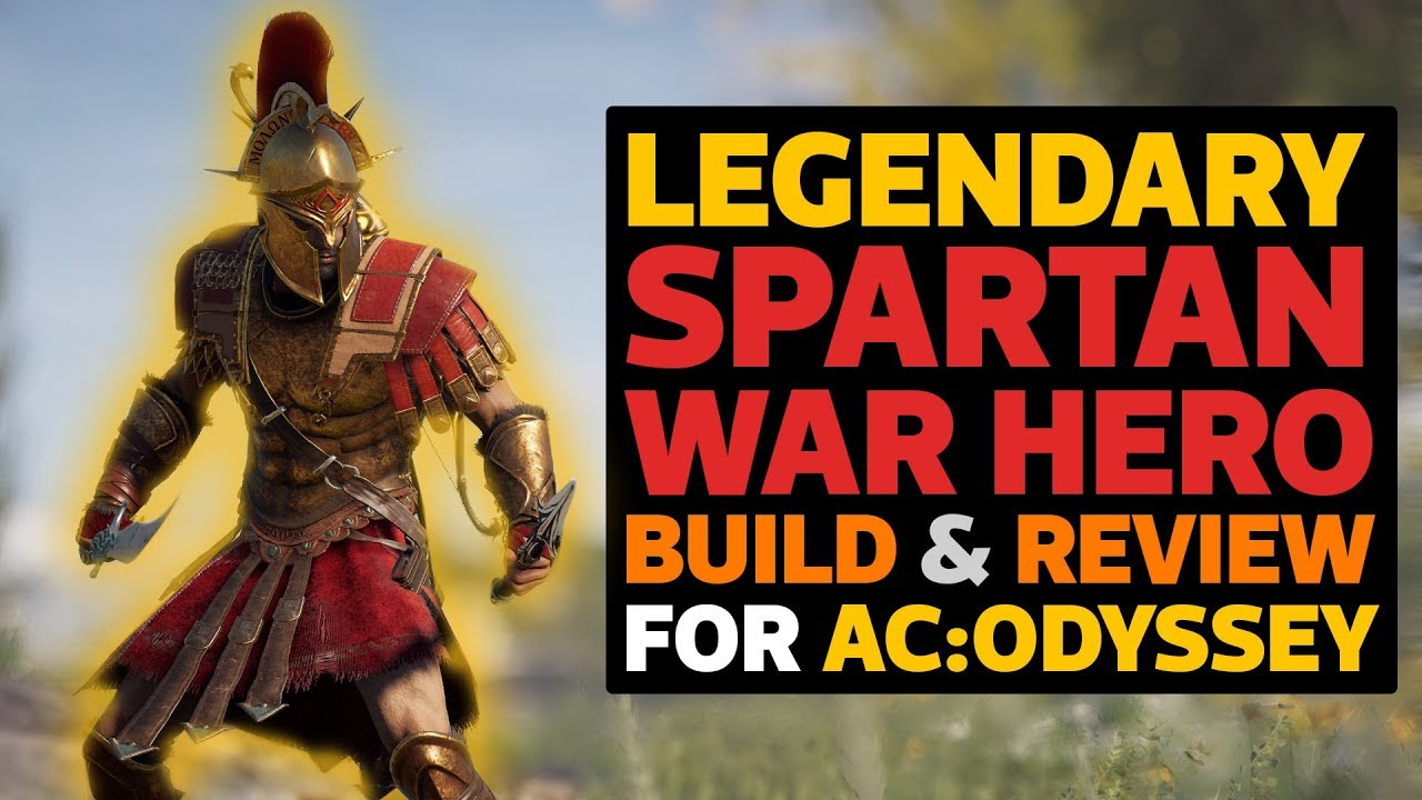 Download Legendary Spartan War Hero Build & Review for AC Odyssey!