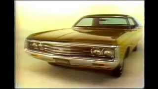 "1971 Chrysler Newport Royal Commercial ""Chrysler Plymouth, Coming Thru Theme"""