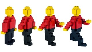 How To Build LEGO Person (Walk Cycle)