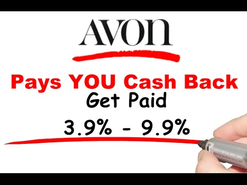 Avon Pays Cash Back?