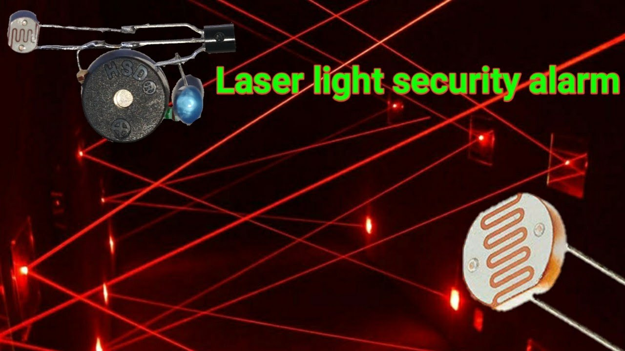Download How to make a laser light security alarm system. Know more creative  
