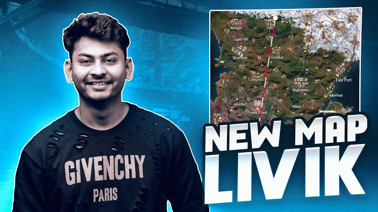 PUBG MOBILE LIVE WITH DYNAMO   NEW MAP LIVIK ACTION WITH DYNAMO & HYDRA SQUAD
