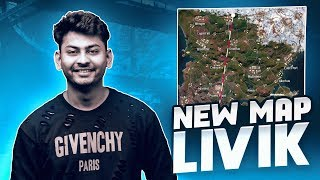 PUBG MOBILE LIVE WITH DYNAMO | NEW MAP LIVIK ACTION WITH DYNAMO & HYDRA SQUAD