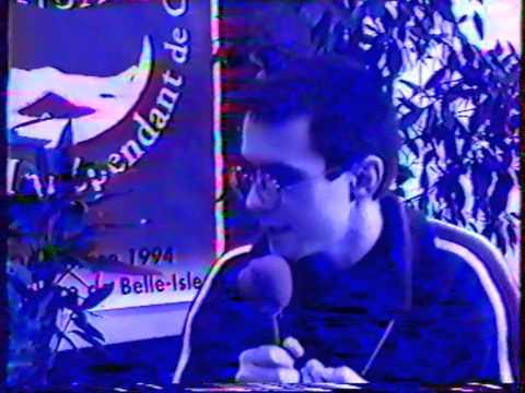 Rémi Lange au Festival du film indépendant de Châteauroux 94