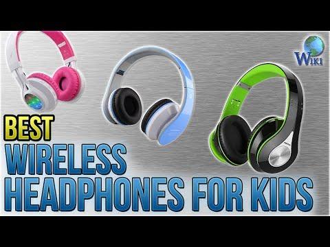 9 Best Wireless Headphones for Kids 2018