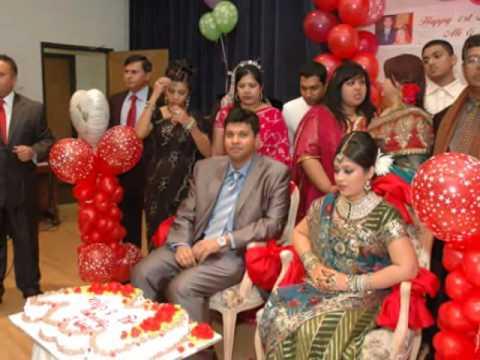 St wedding anniversary party of nabil tanya youtube