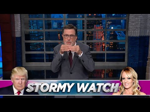 Late Show Is Tracking Two Very Different Storms