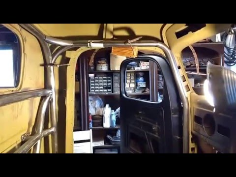 Video 29 1946 Dodge Pickup Truck Roll Cage Youtube
