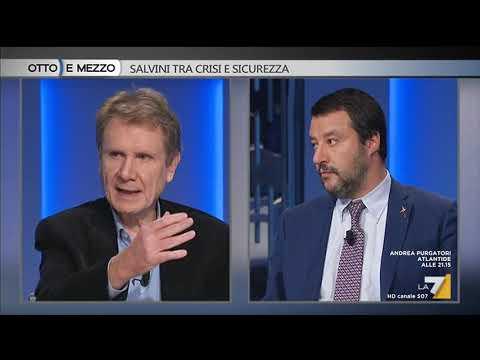 Otto e mezzo - Salvini tra crisi e sicurezza (Puntata 07/11/2018)