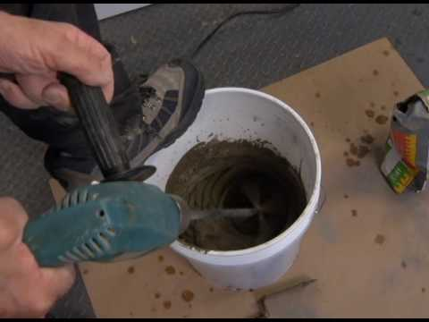How to Lay Tile Over Concrete