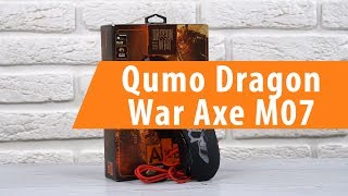 Распаковка Qumo Dragon War Axe M07 / Unboxing Qumo Dragon War Axe M07
