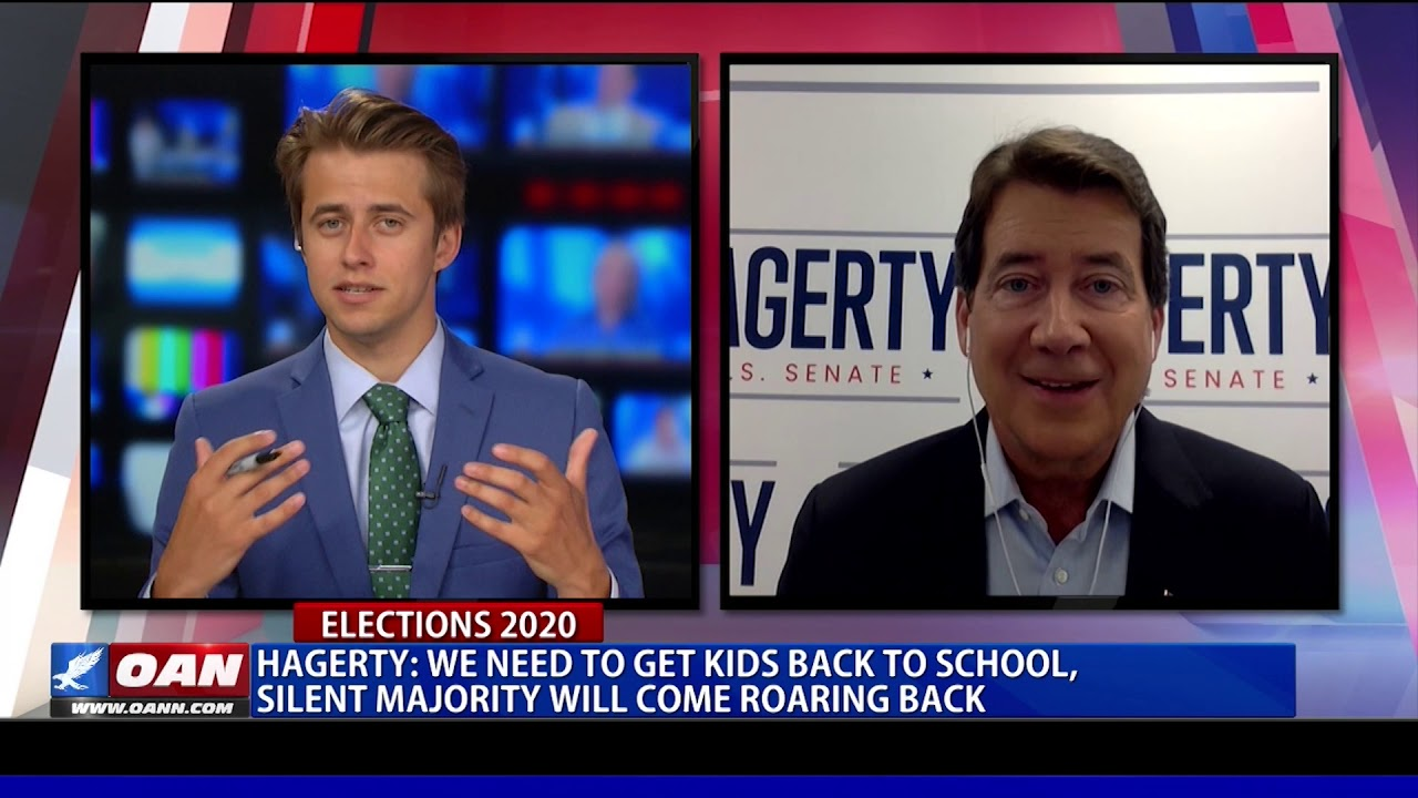 Bill Hagerty: We need to get kids back to school, silent majority will come back roaring