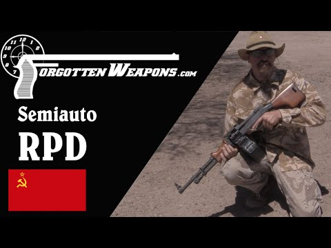 Semiauto RPD Light Machine Gun