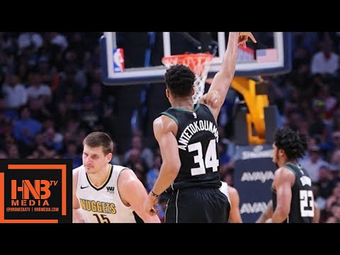 Denver Nuggets vs Milwaukee Bucks Full Game Highlights / April 1 / 2017-18 NBA Season