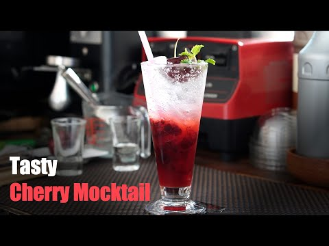 Easy Cherry Mocktails | Simple Drink Recipes