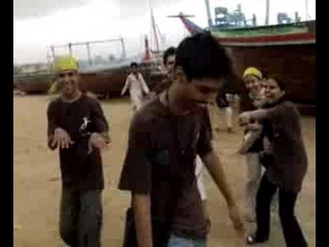 YLC'08 - Chanting at Ibrahim Hyderi