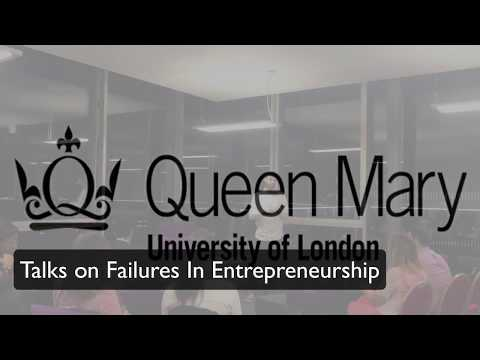 My Life as an Entrepreneur - Julio Alejandro at Queen Mary University of London