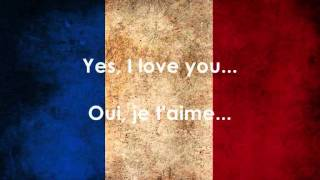 Les Enfants du Pays - Douce France (Lyrics + English Translation)