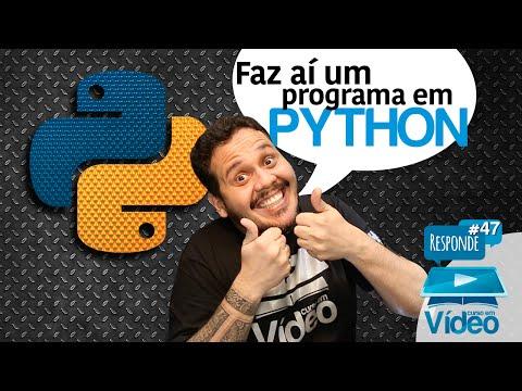 Faz aí um programa em Python - CeV Responde #047