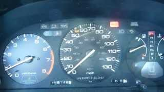 1991 Honda Accord EX Coupe Start-Up