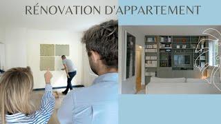 Rénovation complète d'un appartement (du début à la fin)