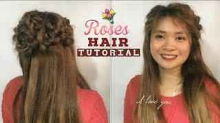 Rose braid Hair tutorial | Irresistible Me Hair Extensions