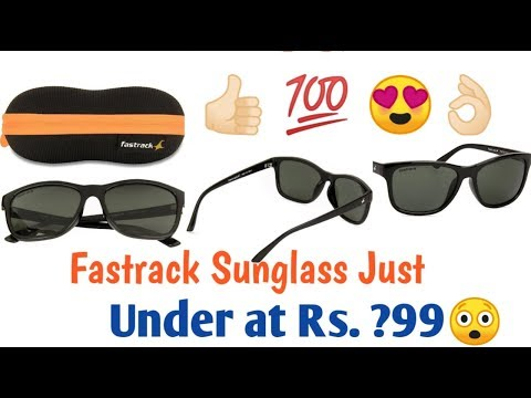 Fastrack Sunglass Review  Under Rs. 600/- From Flipkart Online Shopping   Must Watch This Video