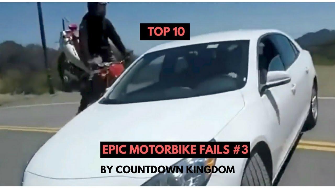 Top 10 Epic Motorbike Fails #3