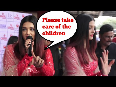 Aishwarya Rai SCOLDS Media, Gets Mobbed During Christmas Celebrations