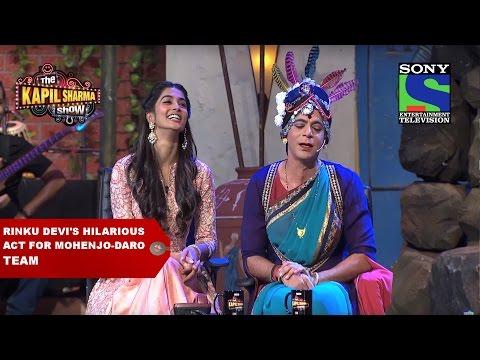 Rinku Devi's hilarious act for Mohenjo-Daro team