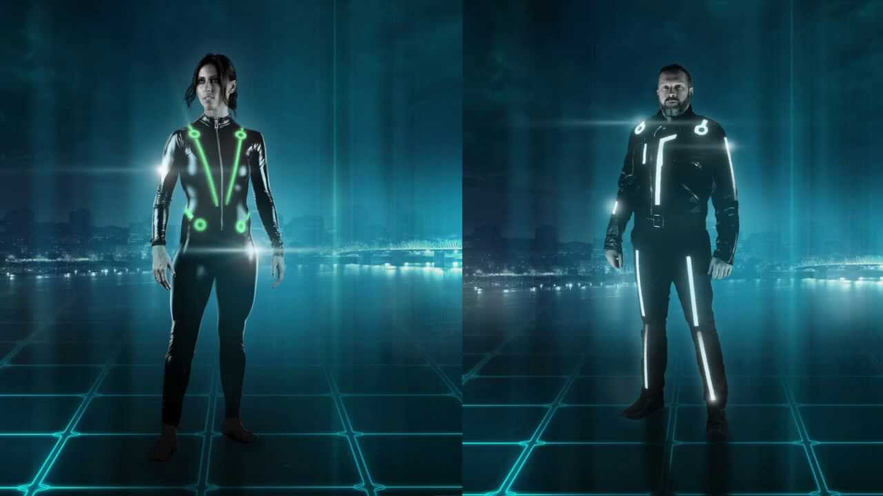 How To Make Your Own Light Up Tron Costume & How To Make Your Own Light Up Tron Costume - YouTube