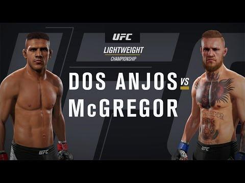 EA SPORTS UFC 2 Gameplay - Conor McGregor Vs Rafael Dos Anjos