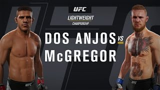 EA SPORTS UFC 2 Gameplay - Conor McGregor vs Rafael Dos Anjos
