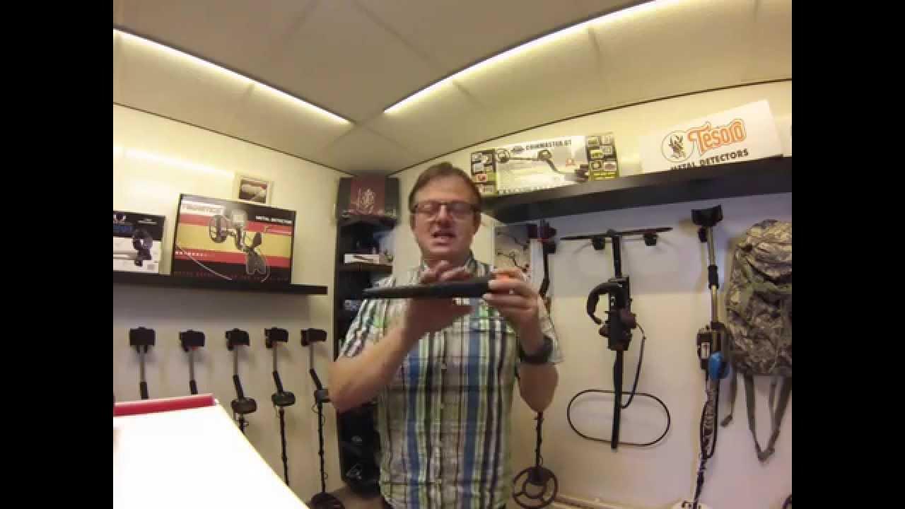 Onwijs Pieterman metaaldetectors Pinpointer Test - YouTube TL-11