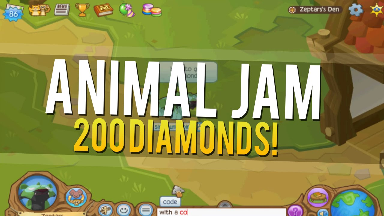 Animal Jam Codes – Getting Started: Every player of Animal Jam knows that getting gems and diamonds by playing, is not so cool. With the help of Animal Jam codes, you can unlock Animal Jam free diamonds and gems. While you pay to get some codes, there are also lots of codes you can get for selectcarapp.ml Animal jam codes come out almost every week.. 1.
