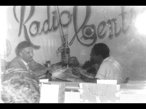 Reportaje entrevista al locutor Arturo Luján en RadioCentro en Tegucigalpa Honduras 3/4