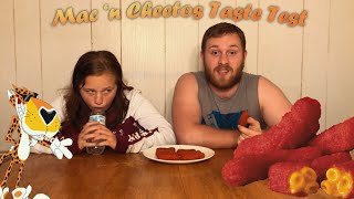 Cheesiest Snack Ever!! Mac 'n Cheetos Taste Test!!