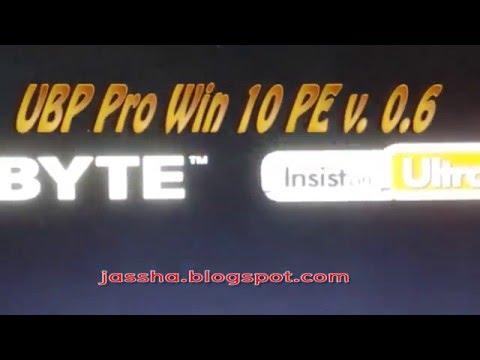 UBP Pro Win 10 PE  Multiboot V.0.6