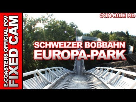 Schweizer Bobbahn - Europa Park - OnRide POV (Parc d